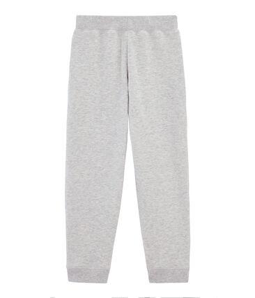 Boys' sweatshirt trousers Gris grey