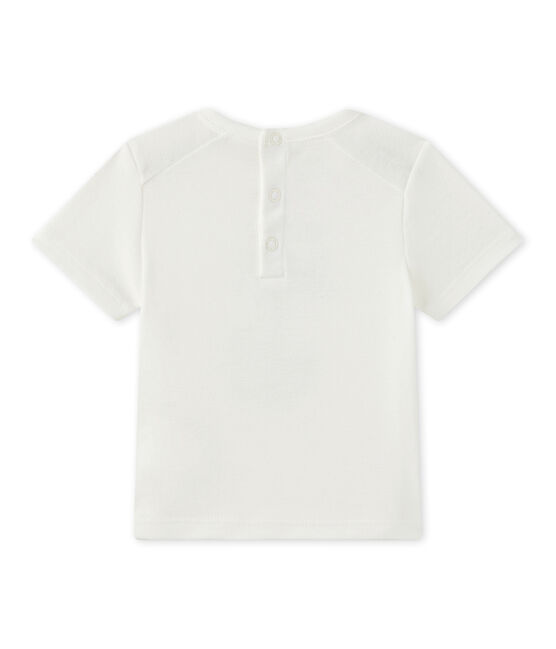 Baby boy's short-sleeved T-shirt Marshmallow white