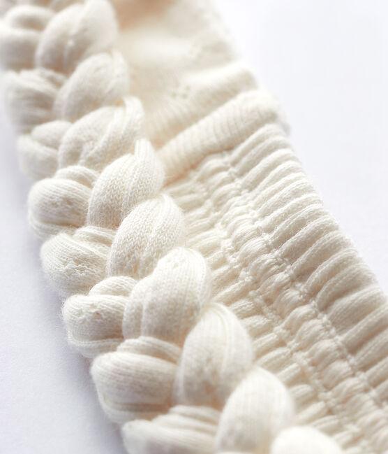 Baby Girls' Plaited Headband Marshmallow white