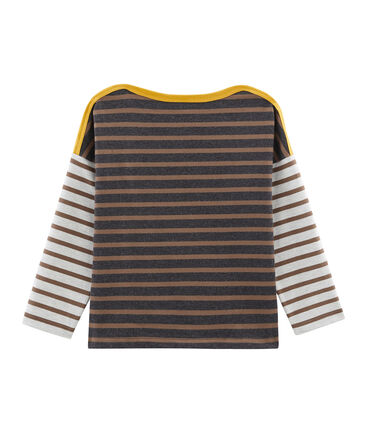 Boys' Sailor Top City black / Cocoa brown