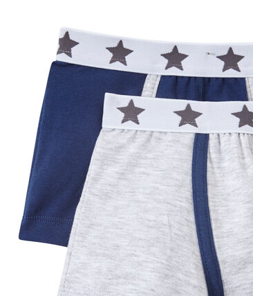 Set of 2 boys' boxers