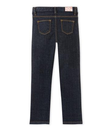 Girl's denim trousers