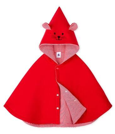Unisex Baby Cape Terkuit red