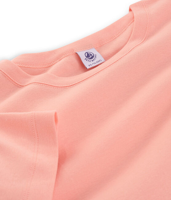 Women's short-sleeved crew neck iconic t-shirt Rosako pink