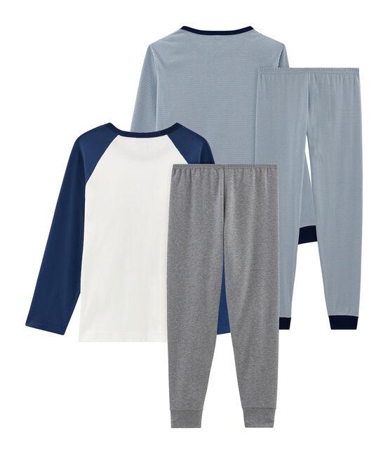 Boys' Ribbed Pyjamas - 2-Piece Set . set