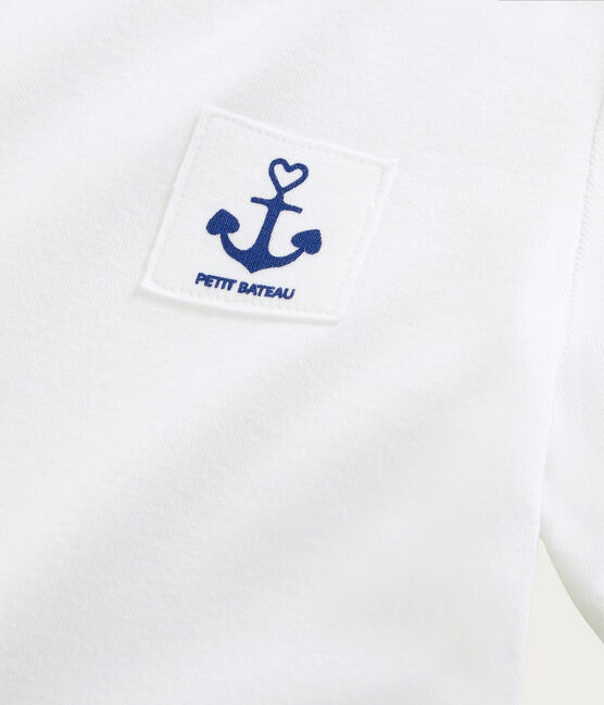 Women's printed Heart T-shirt Ecume white