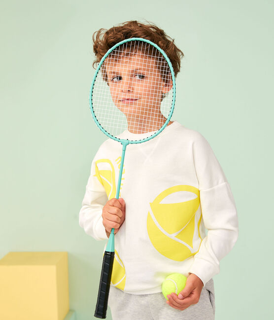 Girl - Boy's Sweatshirt Marshmallow white / Eblouis yellow