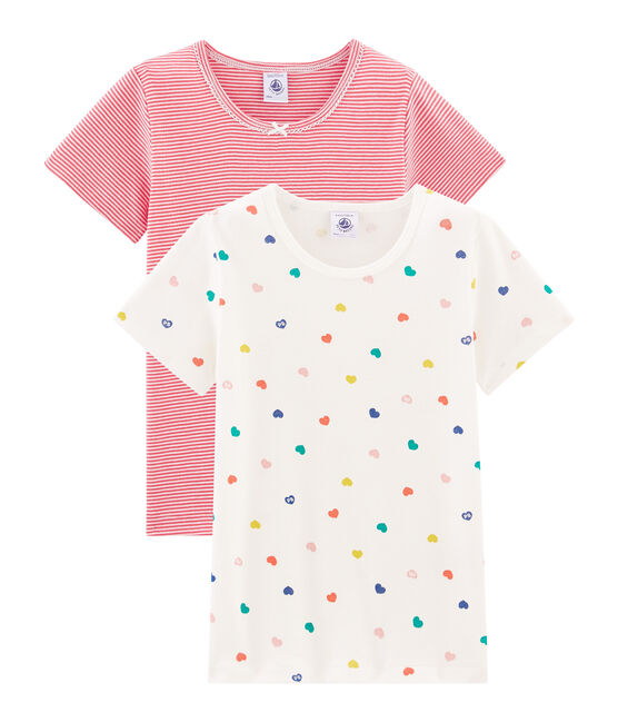 Girls' Short-sleeved T-Shirt - 2-Piece Set . set