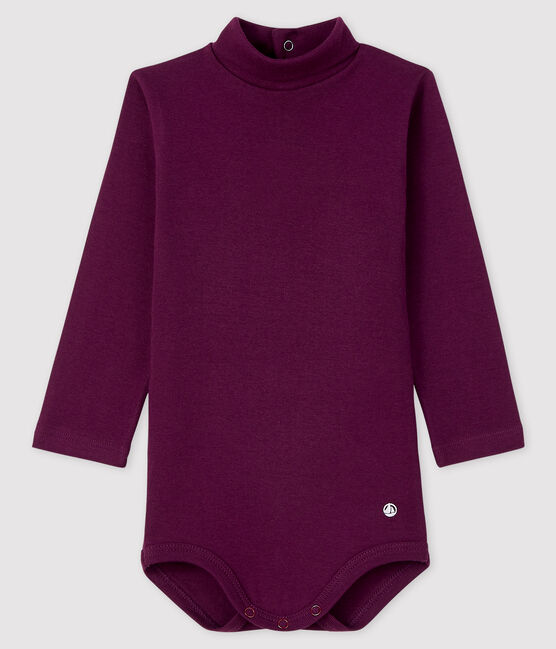 Baby's long-sleeved roll-neck bodysuit CEPAGE