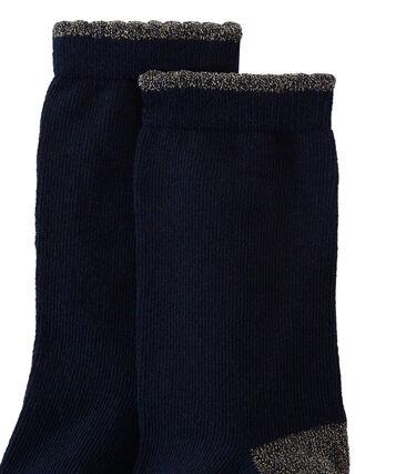 Girl's socks Smoking blue