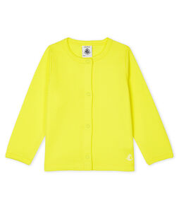 Baby Girls' Light Cardigan Eblouis yellow