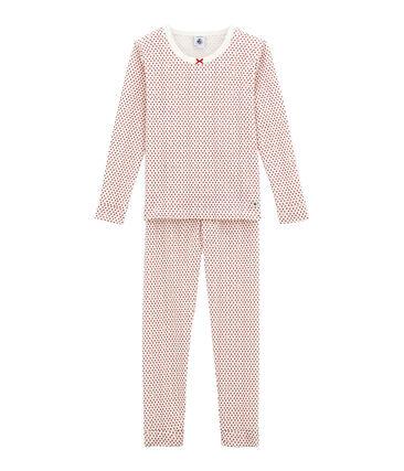 Little girl's fitted pyjamas.