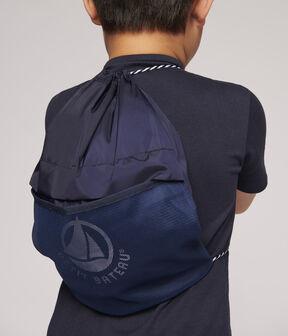 Unisex Stretchy Backpack Smoking blue