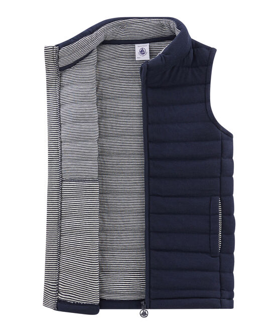Unisex Children's Sleeveless Jacket Smoking blue