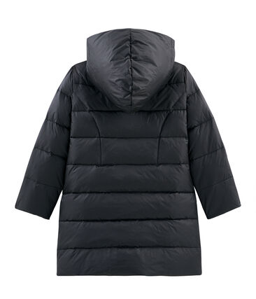 Girls' Feather and Down Coat Capecod grey
