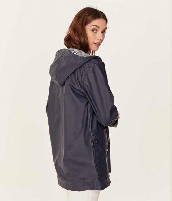 Women's/Men's raincoat Smoking blue