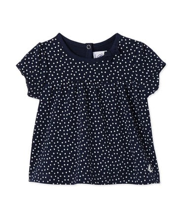 Baby girls' printed tee