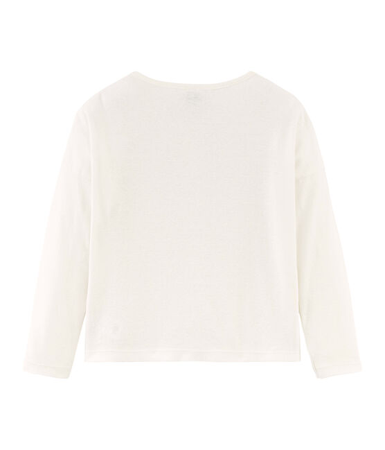 Girls' Cardigan Marshmallow white