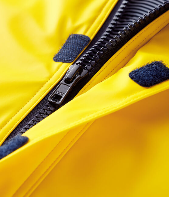 Baby's unisex waxed puffer jacket Jaune yellow