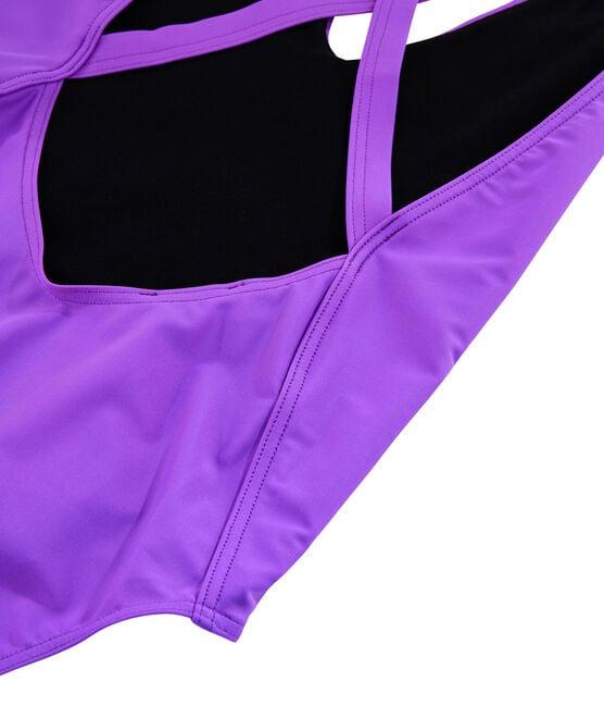 Women's Eco-Friendly Swimsuit Real purple
