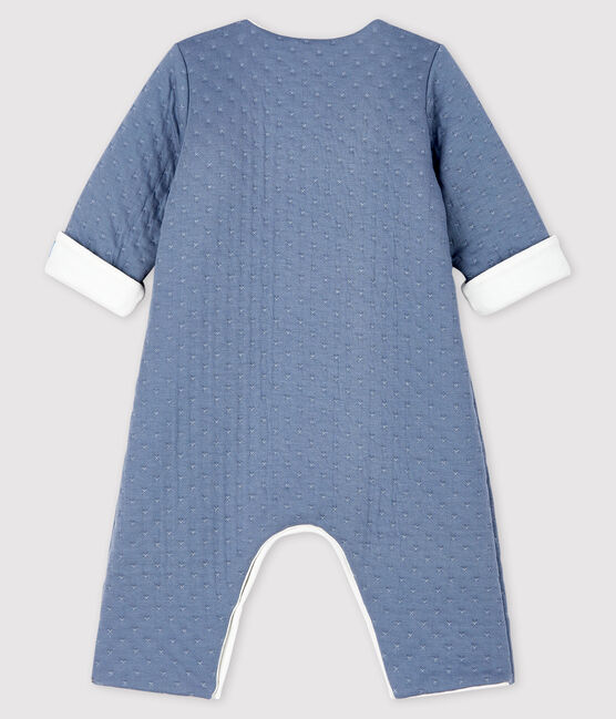 Babies' Long Jumpsuit in Quilted Tube Knit TEMPETE
