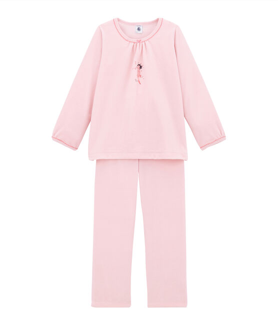 Little girl's pyjamas Joli pink