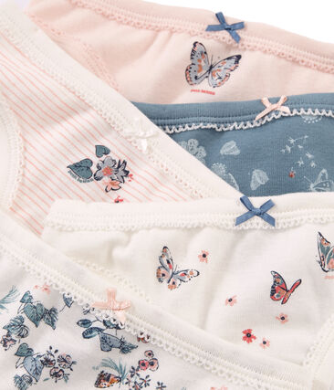 Girls' pants in Cotton - Set of 5