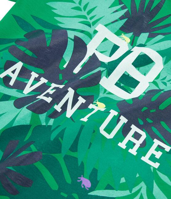 Boys' T-Shirt Prado green