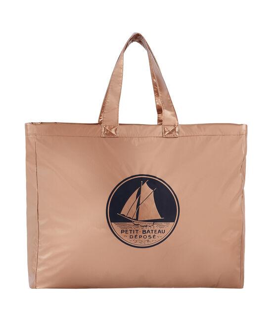 Copper tote bag Copper pink