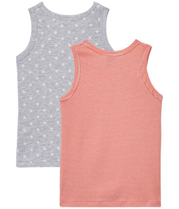 Set of 2 boys' tank tops