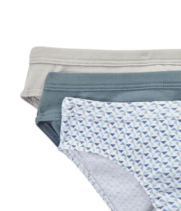 Set of 3 boys' briefs
