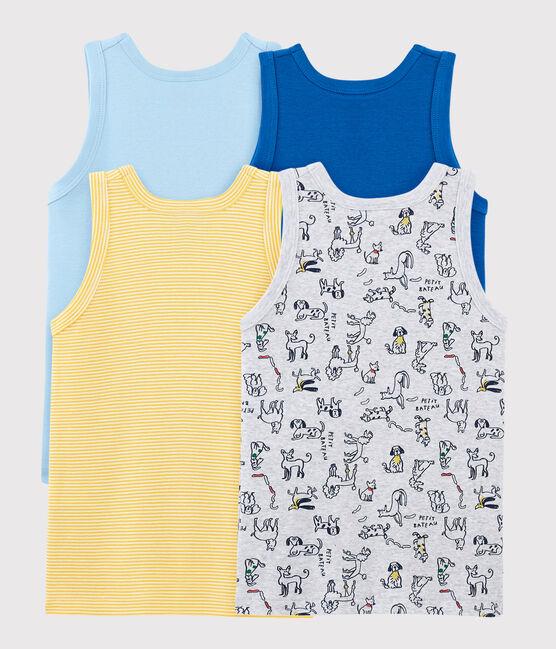 Surprise pack of 4 vests for boys . set
