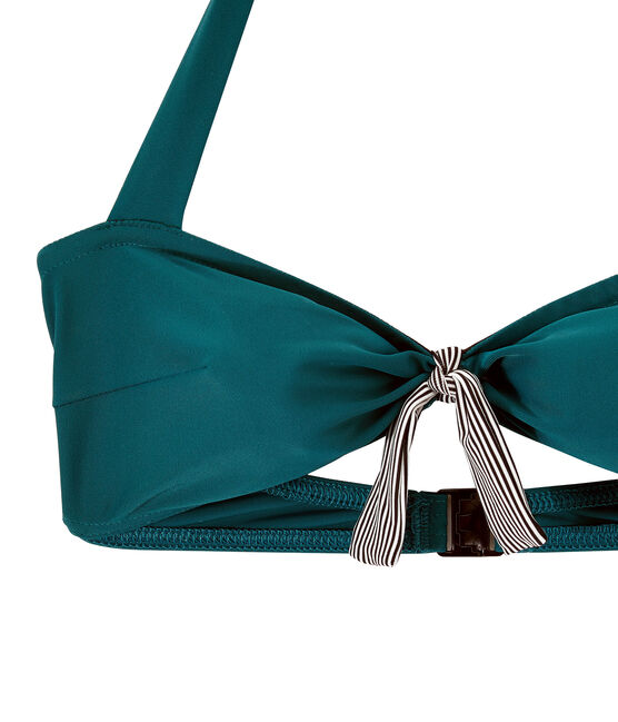 Women's two-piece swimsuit Rivage green