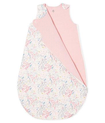 Baby Girls' Reversible Ribbed Sleeping Bag