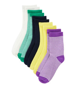 Set of 5 pairs of socks . set