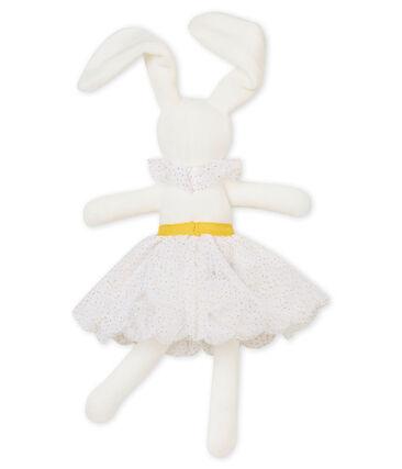 Dancing rabbit comforter Marshmallow white / Dore yellow