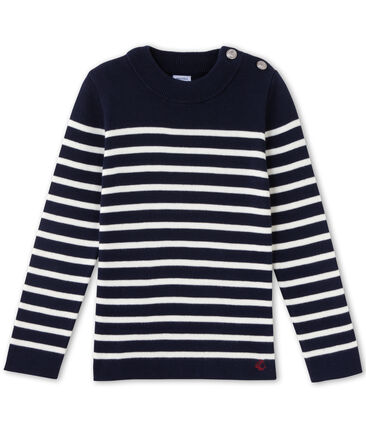 Boy's breton jumper