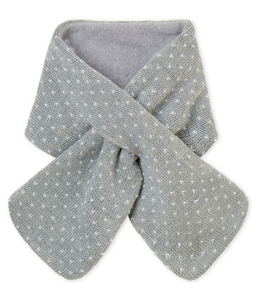 Mixed baby's jacquard scarf