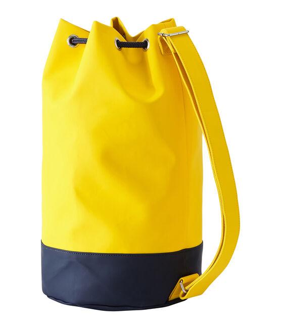 Rubber oilskin bucket bag Jaune yellow