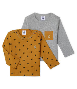 Baby Boys' Long-sleeved T-Shirt - 2-Piece Set . set