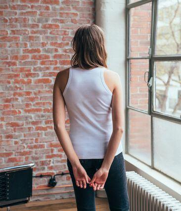 Women's plain iconic vest top