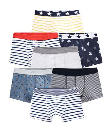 Surprise pack of 7 pairs of boxers for boys