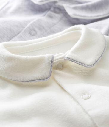 Set of 2 baby boy's long sleeved bodysuits