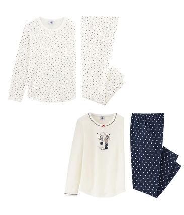 Girls' Pyjamas - Set of 2