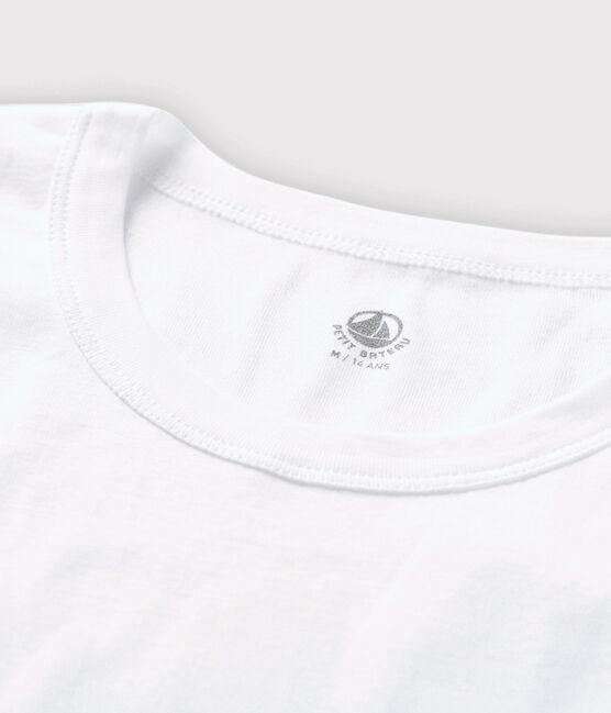 Men's short-sleeved T-shirt Ecume white