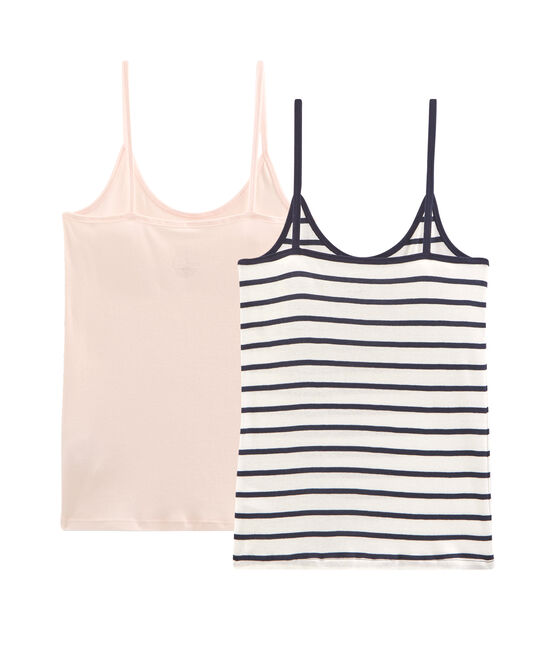 Women's Strappy Shirt - 2-Piece Set . set