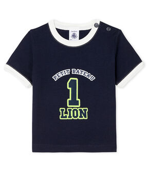 Short-sleeved T-shirt for baby boys SMOKING