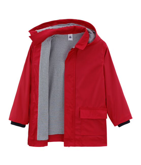 Unisex Child's Raincoat Terkuit red