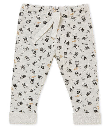 Baby boy's print trousers