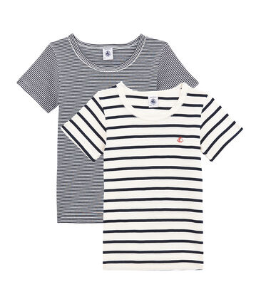 Girls' Short-sleeved T-shirt - Set of 2
